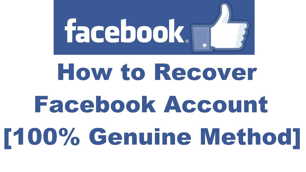 fb recovery